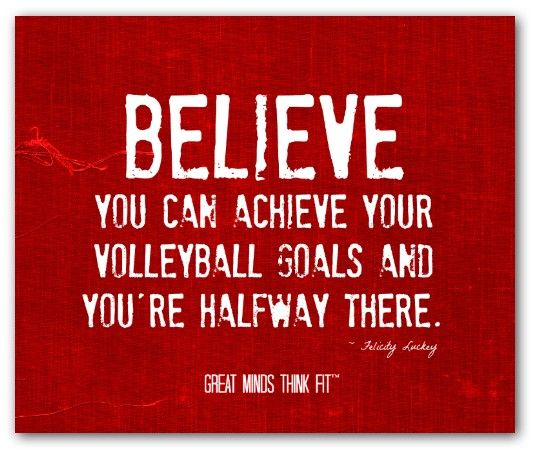Inspirational Volleyball Quotes. QuotesGram