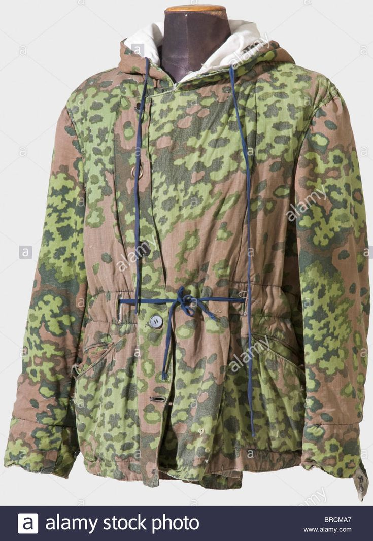 A Reversible Winter Jacket Of The Waffen Ss, With Spring ...