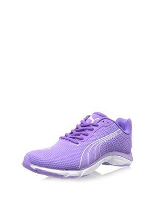 83% OFF PUMA Women's Mobium Elite Glow Running Shoe (Fluorescent Purple)
