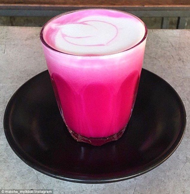 The new 'must-have': Beetroot lattes are the latest coffee fad sweeping Australian cafes