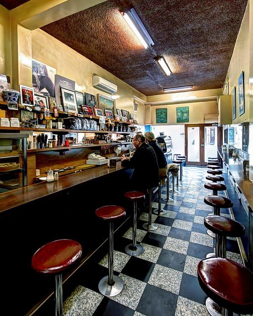 Mebourne's First Italian Espresso Bar | Pellegrinis | Melbourne | Flickr - Photo Sharing!