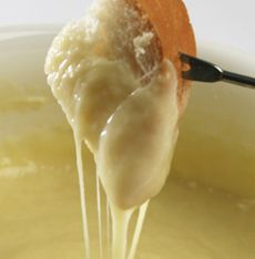 Cheese Fondue, aprox 18 different recipes and mixes for cheese fondue with dip options