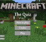Would you like to come to a new version of a quiz game (Minecraft Quiz V1.4.7)? The mission in this game as well as the mission in the other quiz games is to read each of the questions and give the correct answer to each.