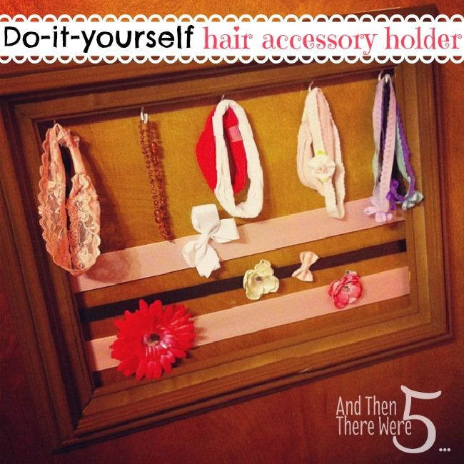 DIY Hair Bow Holder: Hair Bows Holders, Crazy Kids, Diy Hair, Hair Bow Holders, Diy'S, My Daughters, Green Mom, Baby Girls, Hair Accessories Holders