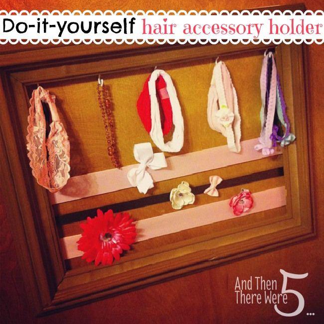 DIY Hair Bow Holder