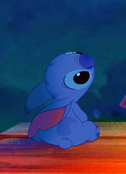 Stitch..can't help but fall in love with the little guy...see Stitch's fine art collection at  www.disneyartonmain.com