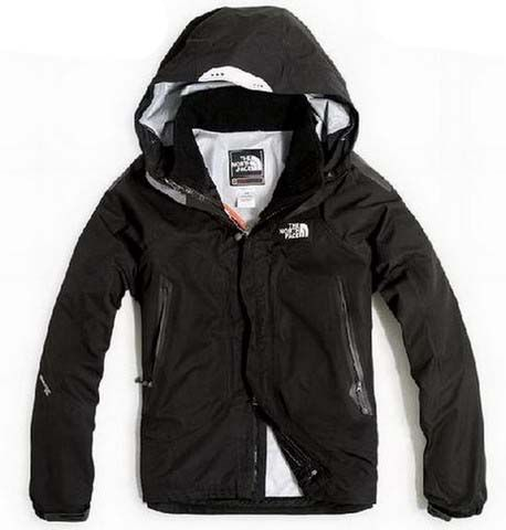 Mens The North Face Triclimate 3 In 1 Jacket Black White Lining