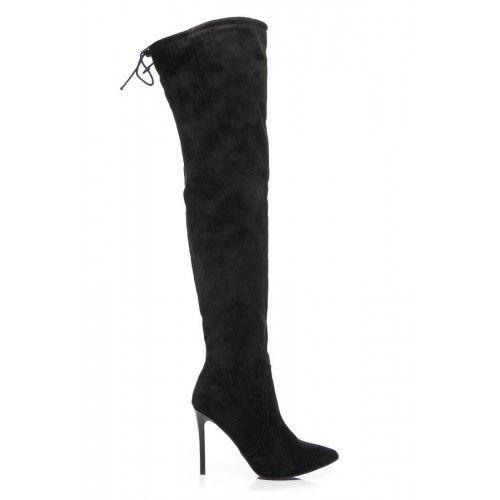 Dámské kozačky Comer Acamer černé – černá Elegantní a zároveň nadčasový kousek, se kterým budete vždy vypadat skvěle.Boty stojí na vysokém jehlovém podpatku a na jejich vnitřní straně je umístěn rozepínatelný zip. Kozačky jsou zatepleny, …