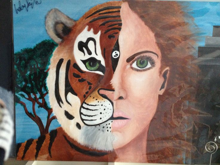 Tiger Girl, finished this one last year,