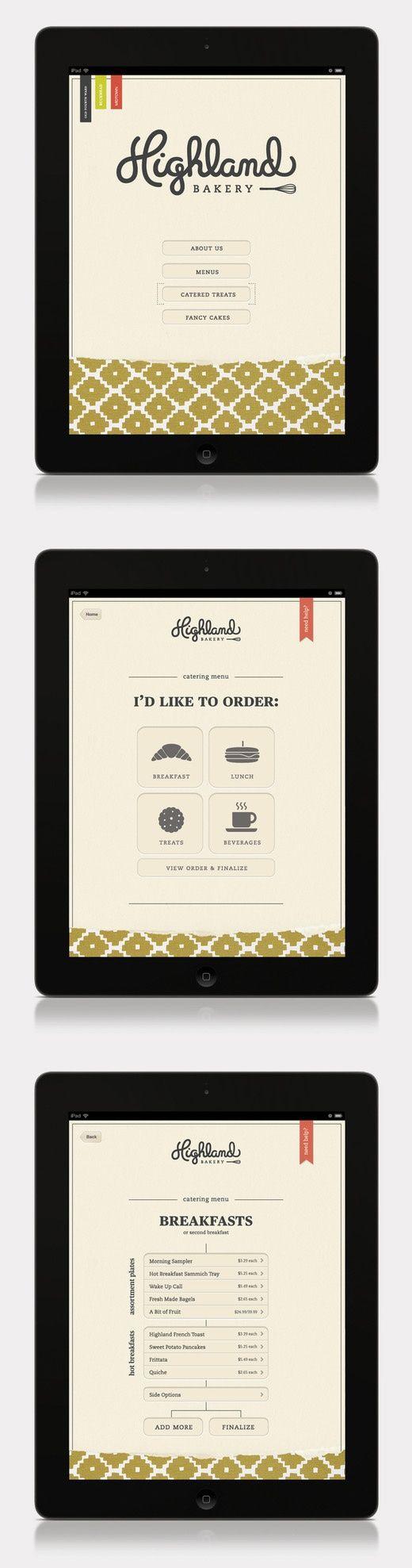 Highland Bakery App