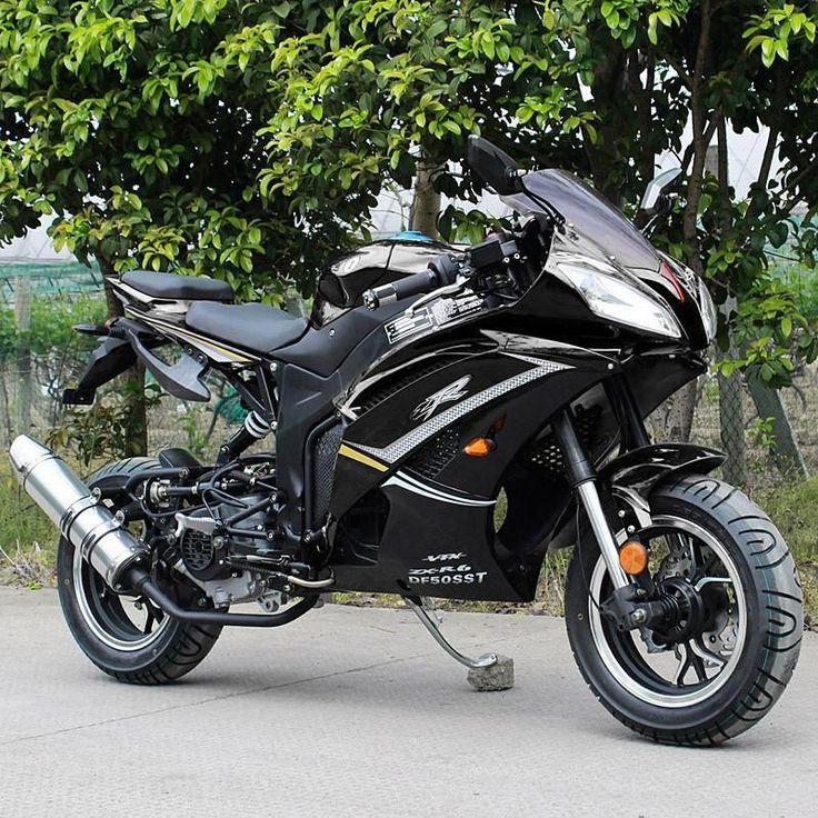 2018 super ninja 50cc super pocket bike zxr6 fully