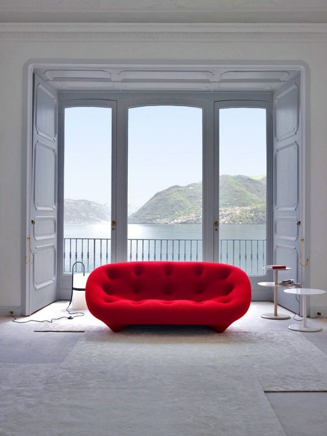 Ploum Sofa by Ligne Roset, Bouroullec Brothers Design