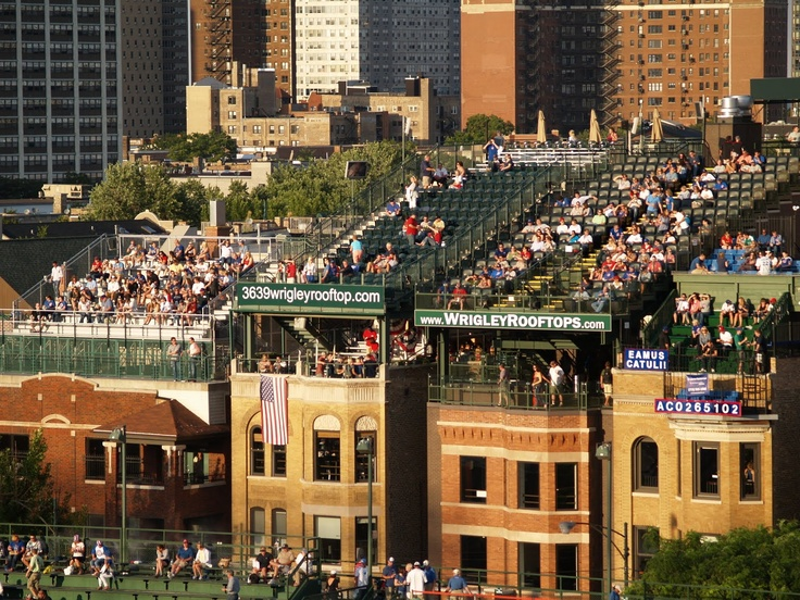 Wrigley Field Rooftop Seating @ Private Residences, Only In Chicago!