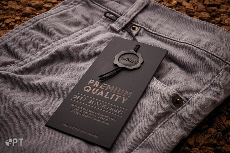 Hang tag made in Italy by Panama Trimmings #denim #details #vintage #labeling