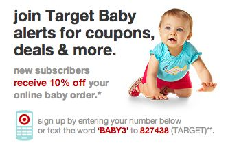 Baby Formula Coupons from Target