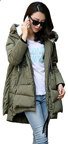 Orolay Women's Thickened Down Jacket Green S Go to the website to read more description.
