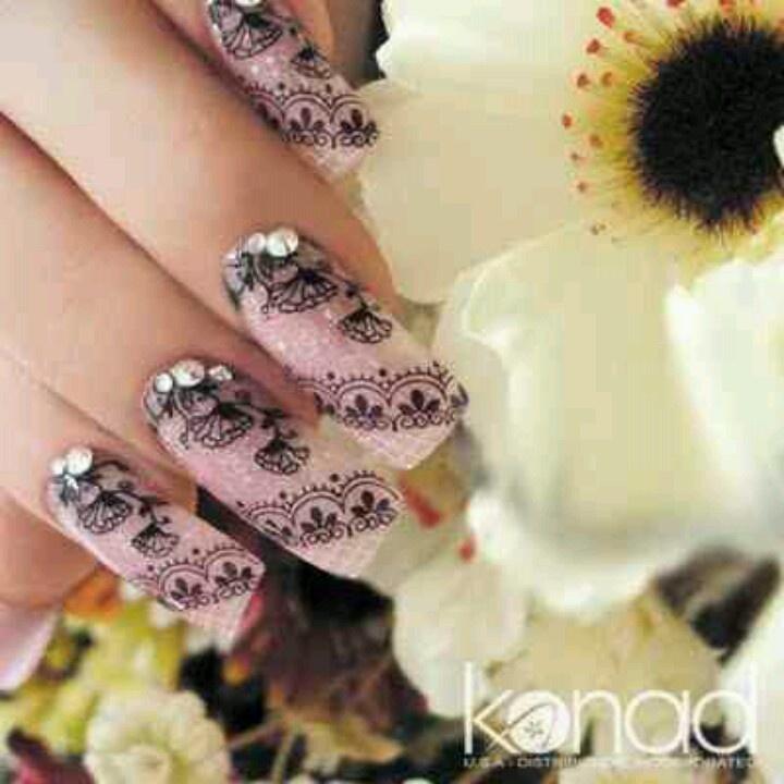 27 best Konad Nails images on Pinterest   Belle nails, Cute nails ...