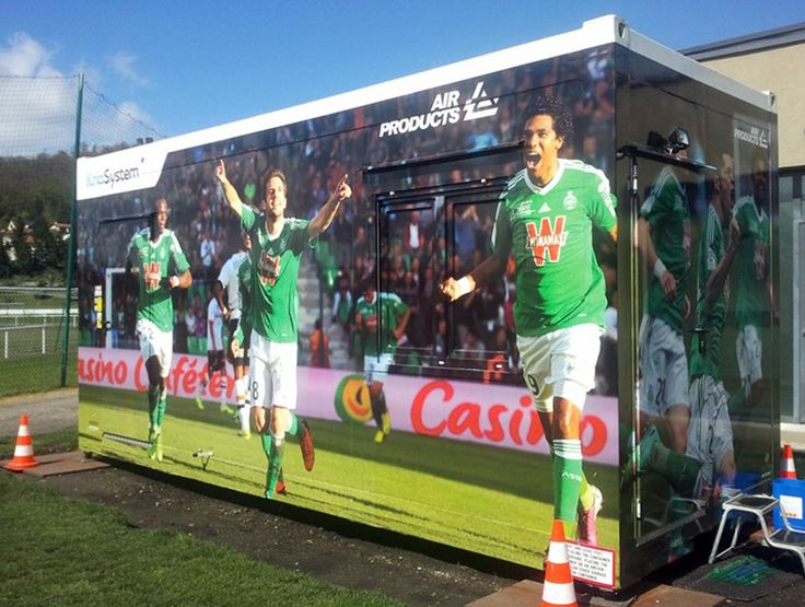 Our mobile whole body #cryotherapy chamber working for AS Saint-Étienne football club in #France. #cryotherapy #cryo #cryochamber #football #soccer #asse #saintetienne #sport #trenning #athlete #recover #recovery #freeze #body #freeze #rejuvenice #chillin #cold #cool #befit #youthful #workout #muscles #weight #body #injury #mobile