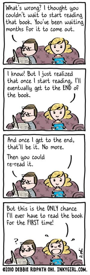 Only A Book Lover Would Understand!! By illustrator Debbie Ohi.