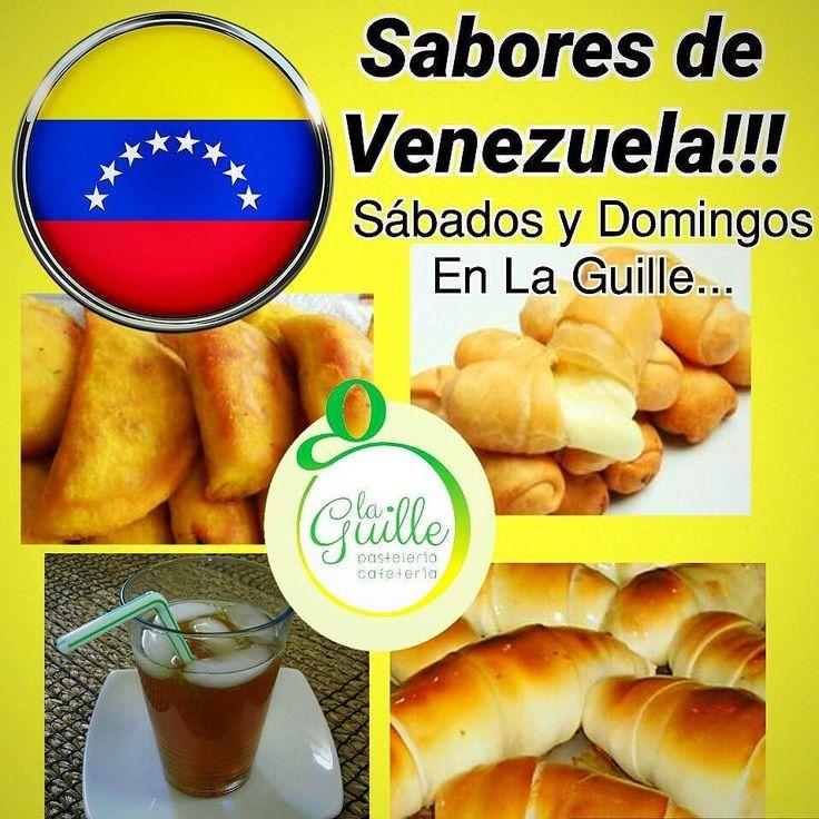 Recuerda este fin de semana visitar @laguillepasteleria aqui en Madrid en el #BarrioDelPilar ... . Sábados y Domingos nos rememoran los sabores venezolanos con cachitos empanadas papelón con limón chicha tequeños malta polar... . Visitalos no te arrepentirás!!! . #laguillepasteleria #recomendado #saboresvenezolanos #venezuela #españa #madrid #barriodelpilar #empanadas #cachitos #tequeños #papelónconlimón #chicha #comidavenezolanaenmadrid