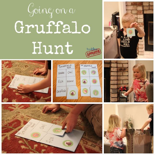 Toddler Approved!: The Gruffalo {Julia Donaldson Virtual Book Club for Kids Blog Hop}
