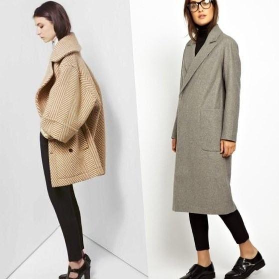 Стильное женское пальто сезона осень-зима 2016-2017 года (с фото).Стильное…