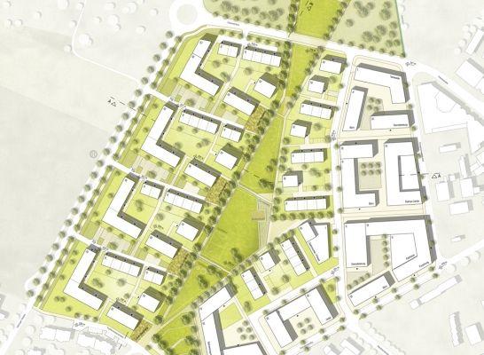 1. Preis: Lageplan, © DNR Daab Nordheim Reutler Partnerschaft