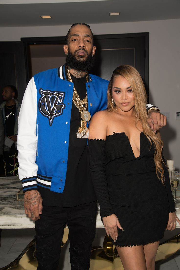 Nipsey Hustle and Lauren London