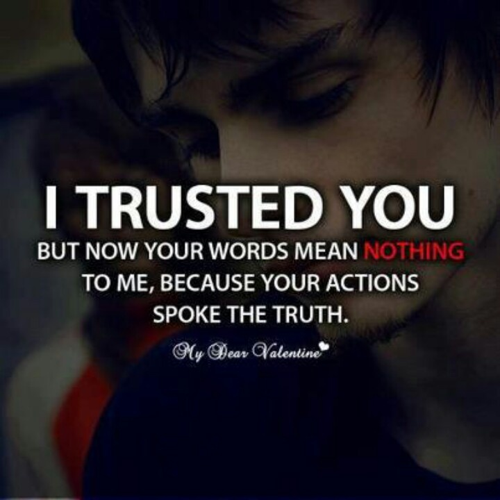 Trust broken | Trust issues | Pinterest | Broken Marriage ...