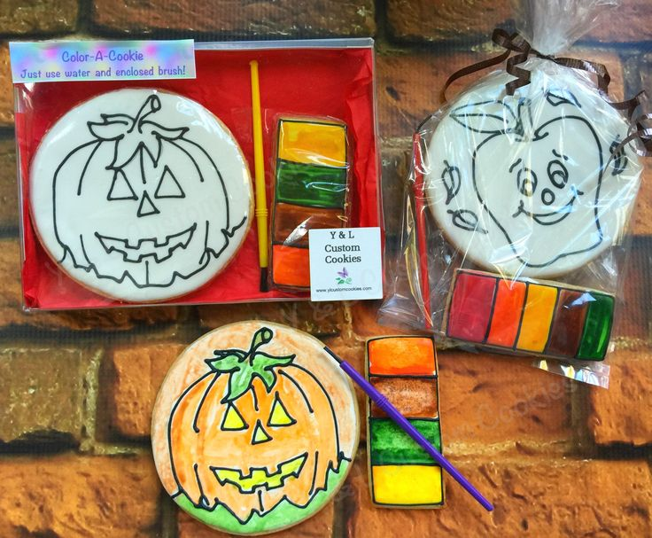 10 best DIY cookies for kids! images on Pinterest Decorated - halloween pumpkin cookies decorating