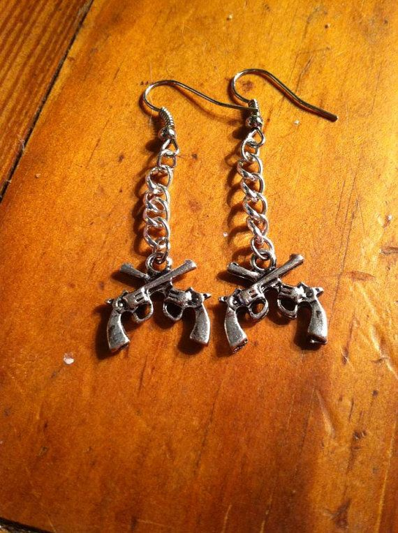 Country Girl Earrings by SCPAB on Etsy, $8.00