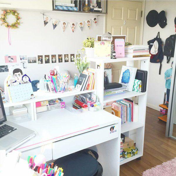 Kawaii Room Tumblr Army Room Decor Study Room Decor