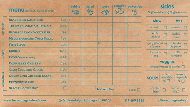 Brown Paper Bag Restaurant Chicago