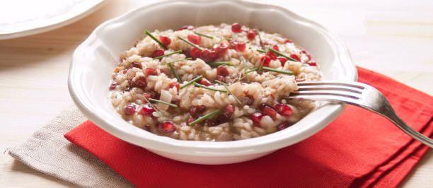 riso carnaroli melagrana parmigiano reggiano