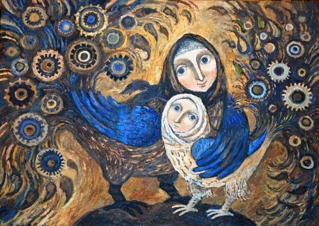 Daria Gerasimova. Mother and Daughter