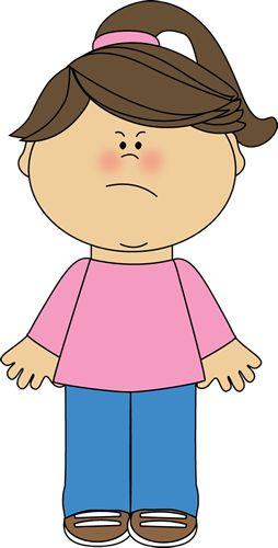 Angry Girl Clip Art - Angry Girl Image