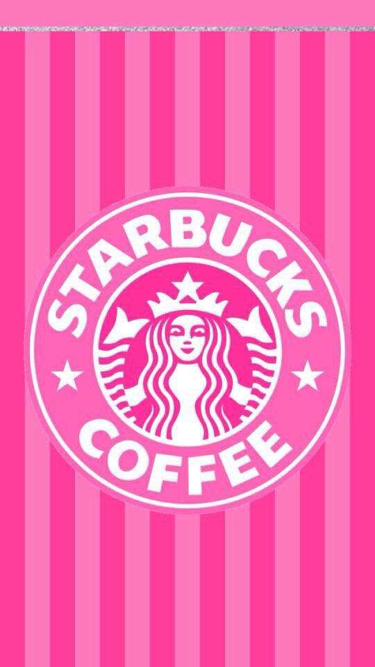 Starbucks wallpaper pink
