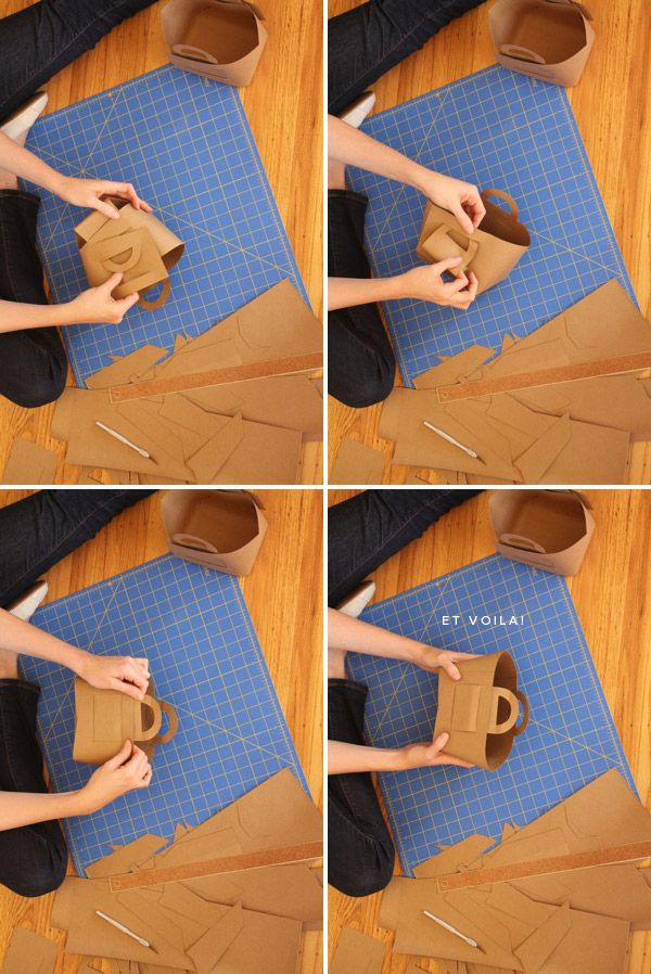 diy butcher paper picnic basket