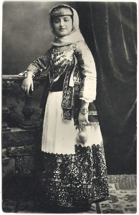 Bridal costume from Aharnes (Menidi) Attica