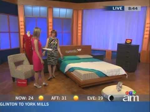 Buy Canadian First on CTV's Canada AM - A Made-in-Canada bedroom - June 2012