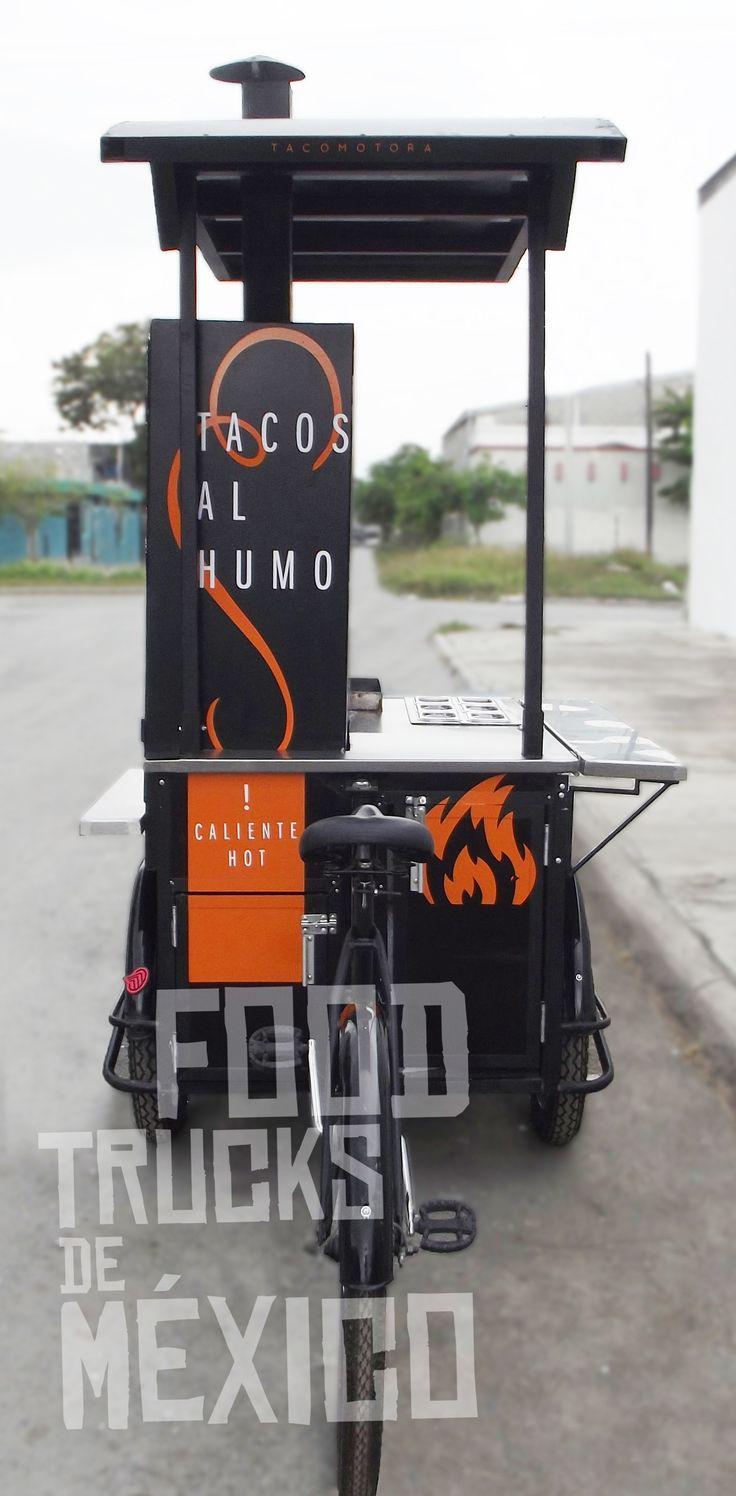 Compartimiento inferior para tanque de gas y compartimiento inferior para almacén. El Tizne. Food Trucks de México