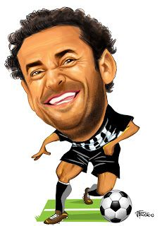 JBoscocaricaturas: Fred no Atlético MG