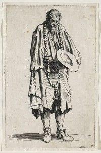 Candide a vu un homme dans une condition terrible qui demandait l'aumône-- cétait Pangloss! (11)