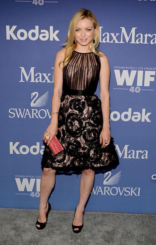 I love Francesca Eastwood's (Clint Eastwood's daughter) dress!!