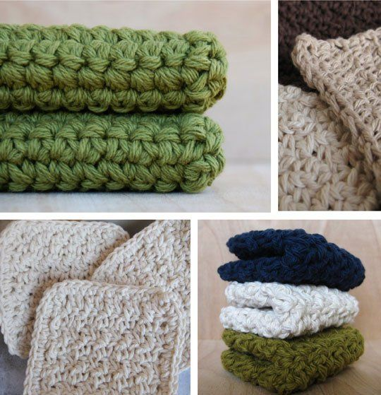 Hand Crocheted Washcloths & Scrubbies from CocoaBeans — Etsy Find