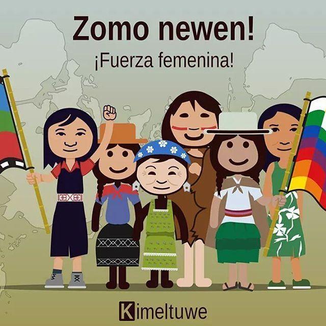 Kom wallontu pu zomo ñi antü. Día internacional de la mujer indígena.