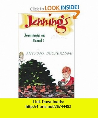 Jennings As Usual (9780755101566) Anthony Buckeridge , ISBN-10: 0755101561  , ISBN-13: 978-0755101566 ,  , tutorials , pdf , ebook , torrent , downloads , rapidshare , filesonic , hotfile , megaupload , fileserve