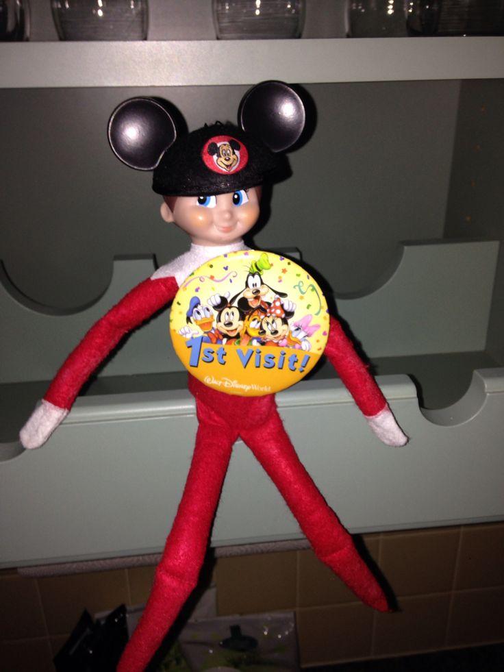 88 Best Disney Elf On The Shelf Images On Pinterest