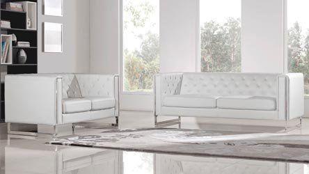 Easton Sofa And Loveseat Set White Sofa Loveseat Set Modern
