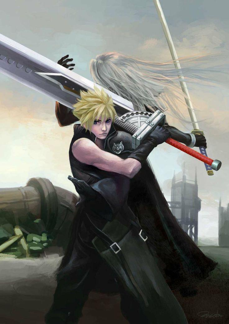 59 best images about Sephiroth & Cloud on Pinterest ...  59 best images ...